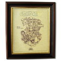 NORTON DOMINATOR Gold Leaf Limited Edition Engine Drawing