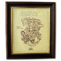 NORTON DOMINATOR Gold Leaf Limited Edition Engine Drawing