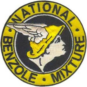National Benzole 75mm Diameter Vintage Embroidered Patch