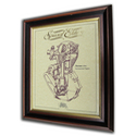 Norton 490cc International Gold Leaf Limited Edition Engine Drawing