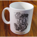 Norton Commando Engine Mug