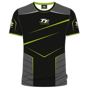 OFFICIAL TT MERCHANDISE 19ATS1 - TT Black T-Shirt