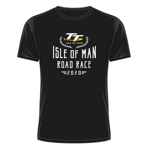 OFFICIAL TT MERCHANDISE 20ATS15 - TT Black T-Shirt