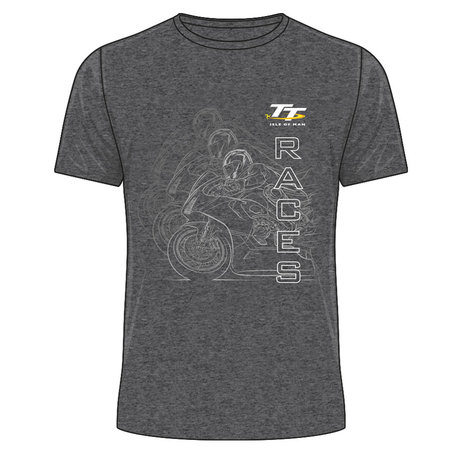 OFFICIAL TT MERCHANDISE 19ATS2 - TT Black T-Shirt