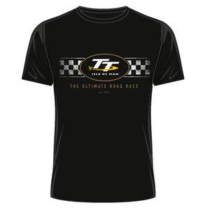OFFICIAL TT MERCHANDISE 19ATS4 - TT Black T-Shirt