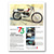 OSSA 6 Day Replica Classic Motorcycle Poster