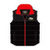 Official Adult TT Black/Red Body Warmer 16BW1BR