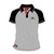 Official Adult TT Grey Polo Shirt - Black Sleeves 16AP3