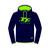 Official Adult TT Navy Green TT Logo Hoodie 16AH2