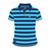 Official Adult TT Polo Shirt - Blue/Navy Stripe 15AP2