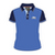 Official Adult TT Polo Shirt - Blue with Navy Sleeves & Collar 15AP4