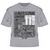 Official TT Adult Printed T-Shirt - Awesome/Unique - Grey 15ATS5
