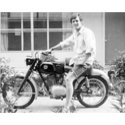 (Phillip Rauls) in Memphis, TN from 1968 on a Puch 125 cc single banger. In those days the Puch line was marketed in the U.S. by....Sears and Roebucks.
