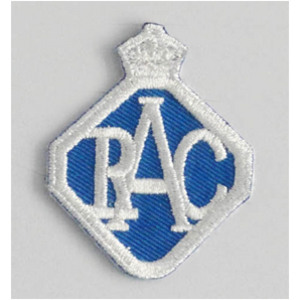 RAC 50mm Diameter Vintage Embroidered Patch