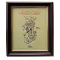 RUDGE ULSTER Gold Leaf Limited Edition Engine Drawing