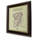 Royal Enfield 1140cc Vee Twin Gold Leaf Limited Edition Engine Drawing