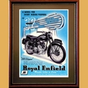 Royal Enfield 250 Clipper Poster