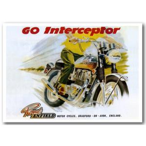 Royal Enfield Interceptor Advertising Poster