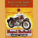Royal Enfield Meteor 700 Advertising Poster
