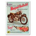 Royal Enfield Meteor 700-8 Advertising Poster