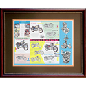Royal Enfield Motorcycles Poster