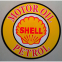 Shell Reproduction Metal Sign