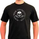 SoCal Black Rebel Retro Motorbike T Shirt