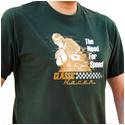 SoCal Classic Racer, British Racing Green Motorbike T-Shirt