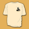 SoCal Classic Racing, Sand Colour Motorbike T-Shirt