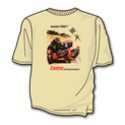 SoCal Motorcycle Side Cars T Shirt (SAND COLOUR)