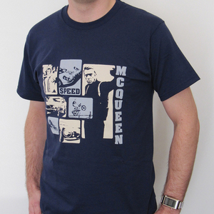 SoCal, Steve McQueen Retro Speed T shirt