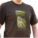 SoCal Vintage Dirt Bike, Dark Brown Motorbike T-Shirt
