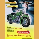 Sunbeam 500 Twin Advertising Poster