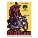 Sunbeam Aristocrat Vintage Motorcycle Poster