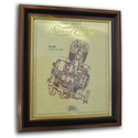 Suzuki 4 Speed 79cc Gold Leaf Limited Edition Engine Drawing