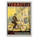 TERROT Motorcycle Advertising Poster