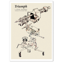 Triumph 4 Speed Gear Box Poster