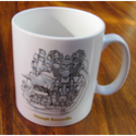 Triumph Bonneville Engine Mug