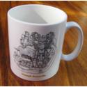 Triumph Bonneville Engine Mug