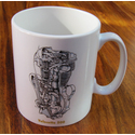 Velocette Engine Mug