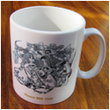 Vincent 1000 Engine Mug