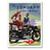 Zundapp Vintage Motorcycle Poster