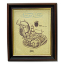 James 200 Gold Leaf Limited Edition Engine Drawing